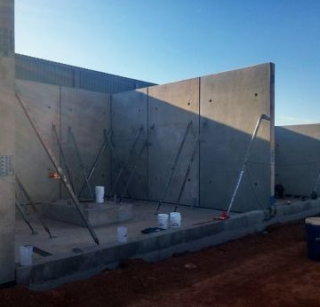 custom concrete panels