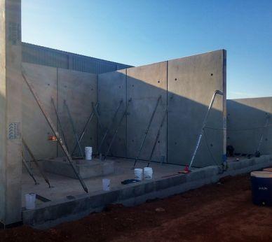 custom concrete panels