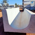 concrete feed trough, box culverts and box culverts base at warehouse