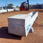 concrete stock troughs for livestock feeding