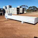 concrete stock troughs for cattle feeding