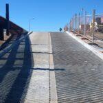 concrete boat ramp installation