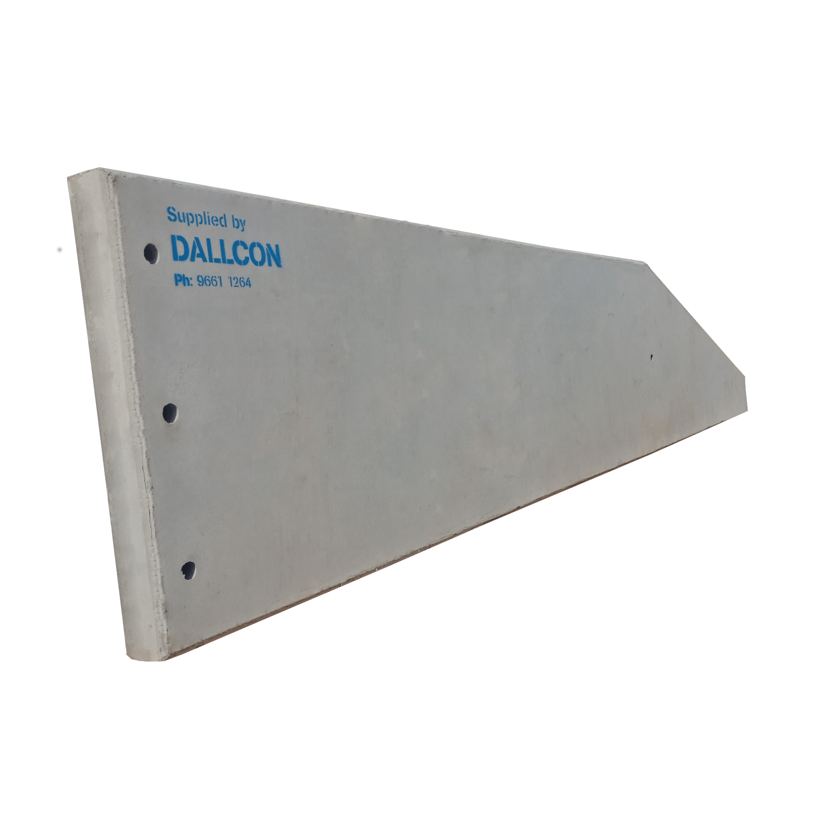 precast concrete loading ramps