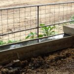 concrete stock troughs for water
