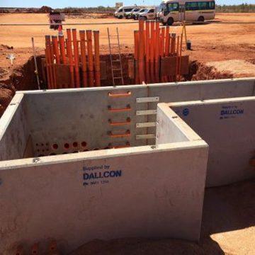 custom concrete precast pits