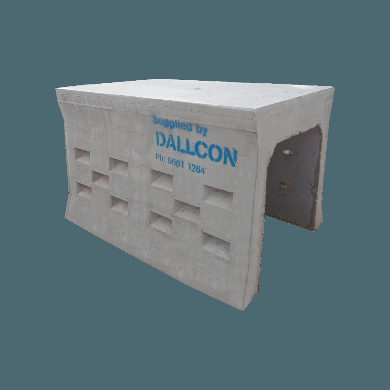 precast concrete leach drains