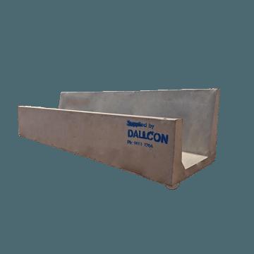precast concrete cattle feed trough