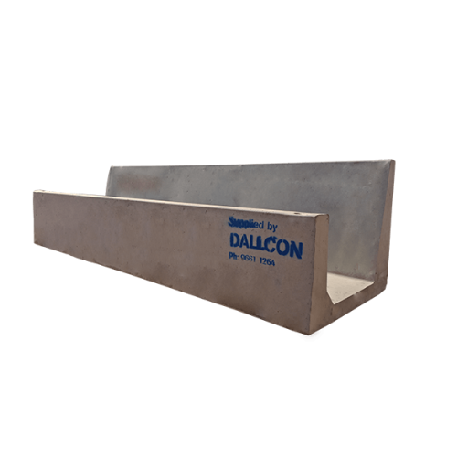 precast concrete cattle feed trough