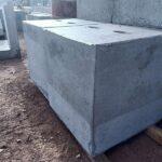 Concrete Cyclonic Tie Down Blocks