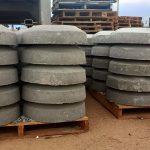 standard concrete irrigation donuts