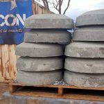 stackable precast concrete irrigation donuts