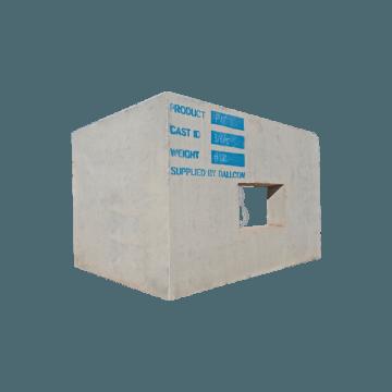 precast concrete rail Communications Pit
