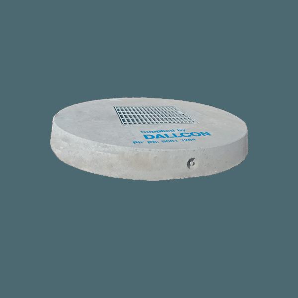 precast concrete stormwater lids