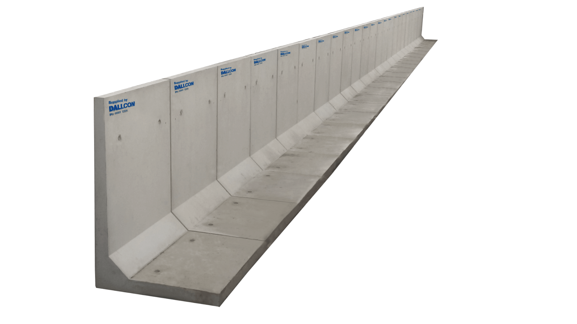 Retaining Wall Systems Free Delivery 500 Km Dallcon