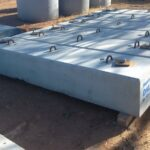 Concrete structural footings